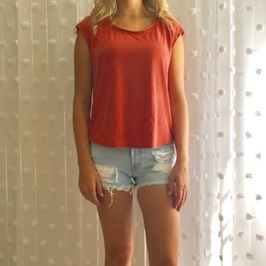 Size Small Burnt Orange Shirt. Perfect for Falll